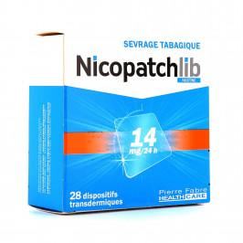 NICOPATCH LIB 14MG BTE/28
