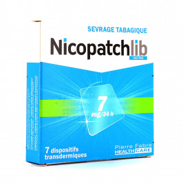 NICOPATCHLIB 7MG/24H PATCH B/7