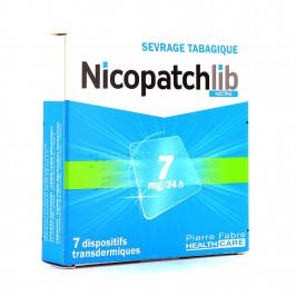 NICOPATCHLIB 7MG/24H PATCH B/7