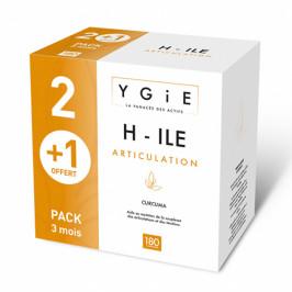 Ygie H-ile pack 3 mois articulation 180 comprimés