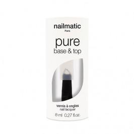 Nailmatic vernis base & top biosourcée pure color-manucure 2 en 1 8ml