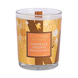 Collines de provence bougie parfumée cannelle orange 75g
