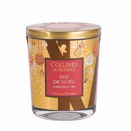 Collines de provence bougie parfumée Noël thé de noël 180g