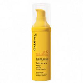 Galénic soins soleil fluide non gras visage spf 30 40ml