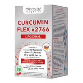 Biocyte curcumin flex x2766 liposomal 120 gélules