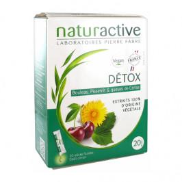Naturactive détox 20 sticks fluides