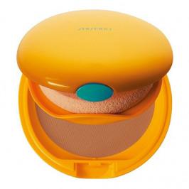 Shiseido tanning fond de teint compact bronzant spf6 honey 12g