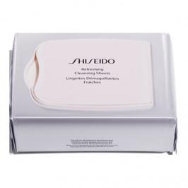 Shiseido lingettes démaquillantes fraîches 30 lingettes