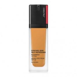 Shiseido synchro skin self-refreshing fond de teint spf30 bronze 420 30ml