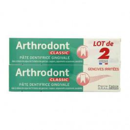 Pierre fabre arthrodont classic pâte dentifrice gingivale 2x75ml