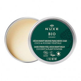 Nuxe bio organic déodorant baume fraîcheur 24h 50g