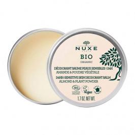 Nuxe bio organic déodorant baume peaux sensibles 24h 50g