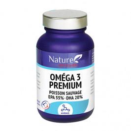 Nature attitude oméga 3 premium 60 capsules