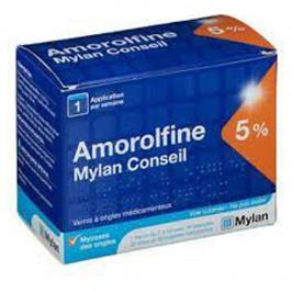 Mylan amorolfine conseil 5% 2,5ml