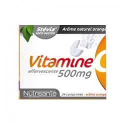 Nutrisanté vitamine c 500mg 24 comprimés effervescents
