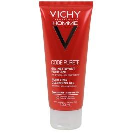 Vichy homme code pureté gel nettoyant 100ml