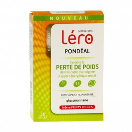 Léro pondéal fruits rouges 30 sticks