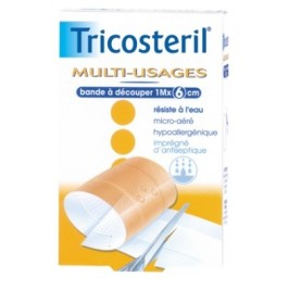 Tricosteril bande pansement multi-usages