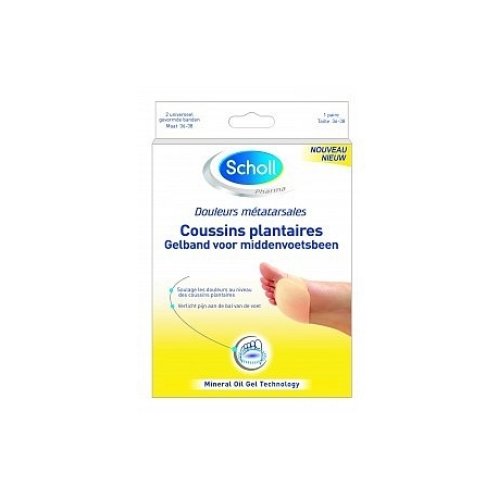 Scholl Coussins Plantaires taille 1 x 2