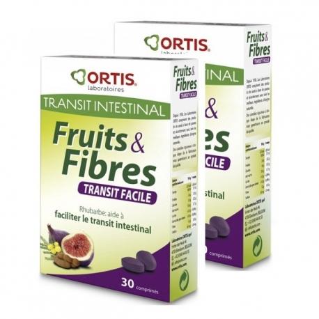 Ortis fruits et fibres duo 30 comprimés
