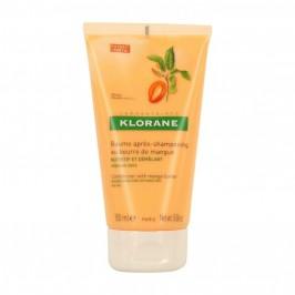 Klorane baume après-shampooing nutritif et démêlant beurre de mangue 150ml