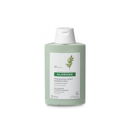 Klorane shampooing à l'extrait de myrte 200ml