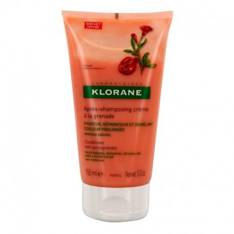 Klorane baume après-shampooing crème grenade 150ml