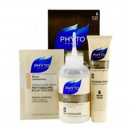 Phyto Color couleur soin 6 blond foncé kit