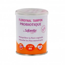 Saforelle Florgynal probiotique mini 14 tampons