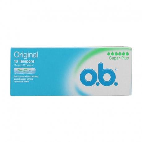 O.B Super plus 16 tampons