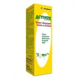 Arkopharma Activox Spray Apaisant pour la gorge 30ml