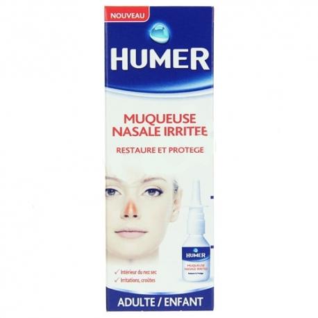 Humer muqueuse nasale irrit e restaure et prot ge 20ml for Interieur nez sec