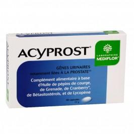 Mediflor Acyprost gènes urinaires 30 capsules