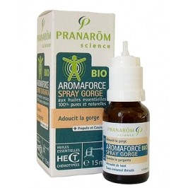 Pranarôm Science Aromaforce Bio spray gorge 15ml