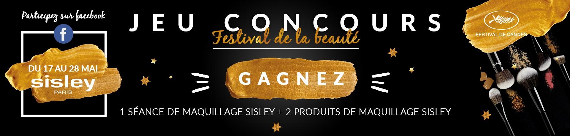 concours festival sisley